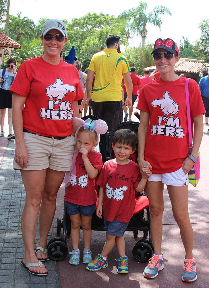 #OfficialGayDays #RedShirtDays at Magic Kingdom